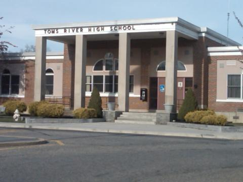 Toms River High School front